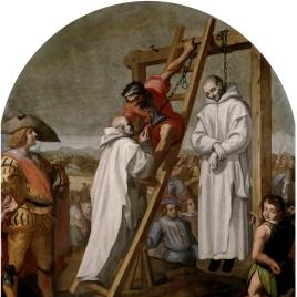 Martirio de los padres John Rochester y James Walworth