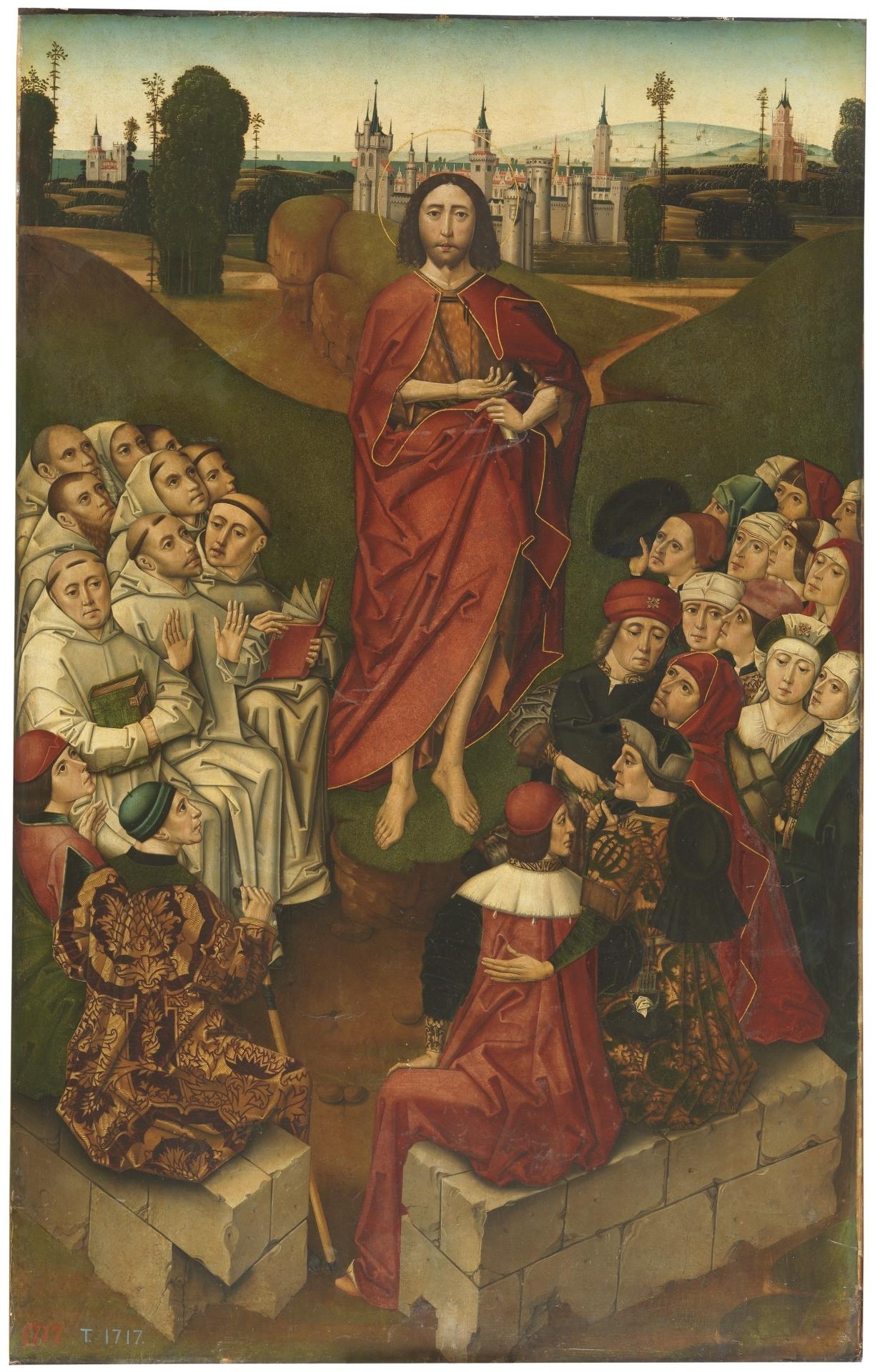 La predicación de San Juan Bautista - Colección - Museo Nacional del ...