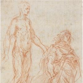 Dos estudios de figura masculina