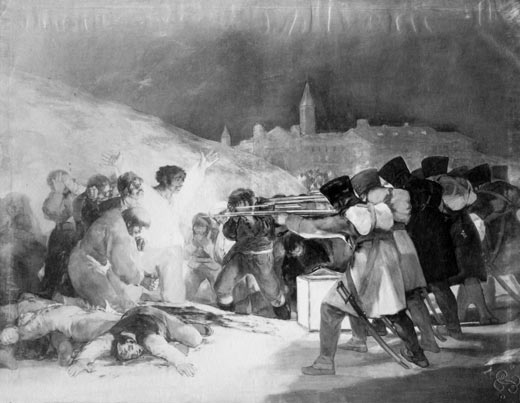 The 3rd of May, Francisco de Goya (photography)
