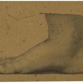 Estudio de pie derecho (Mater Salvatoris. Capilla de las Letanías de la Iglesia de Notre Dame de Lorette, París).
