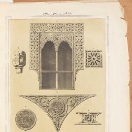 Detalles del Salón de Casa de Mesa y de Santa María la Blanca