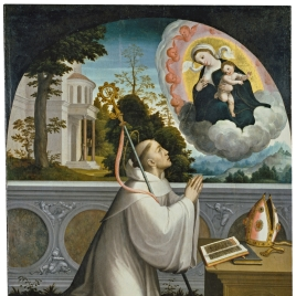 Aparición de la Virgen a San Bernardo