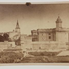 Vista del Castillo de Perpignan