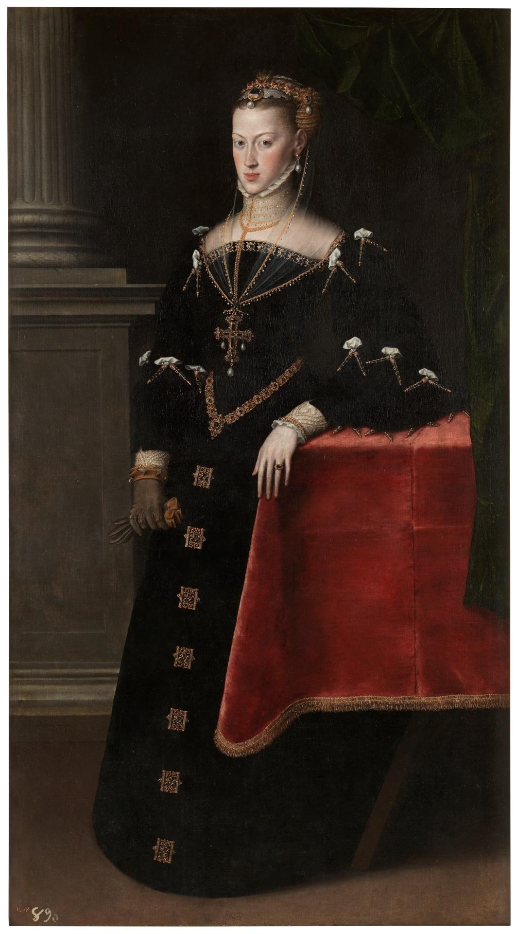 Empress Maria of Austria, Wife of Maximilian II - The Collection - Museo  Nacional del Prado