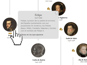 Los Reyes de España en el Museo del Prado. Monarcas de la Casa de Habsburgo