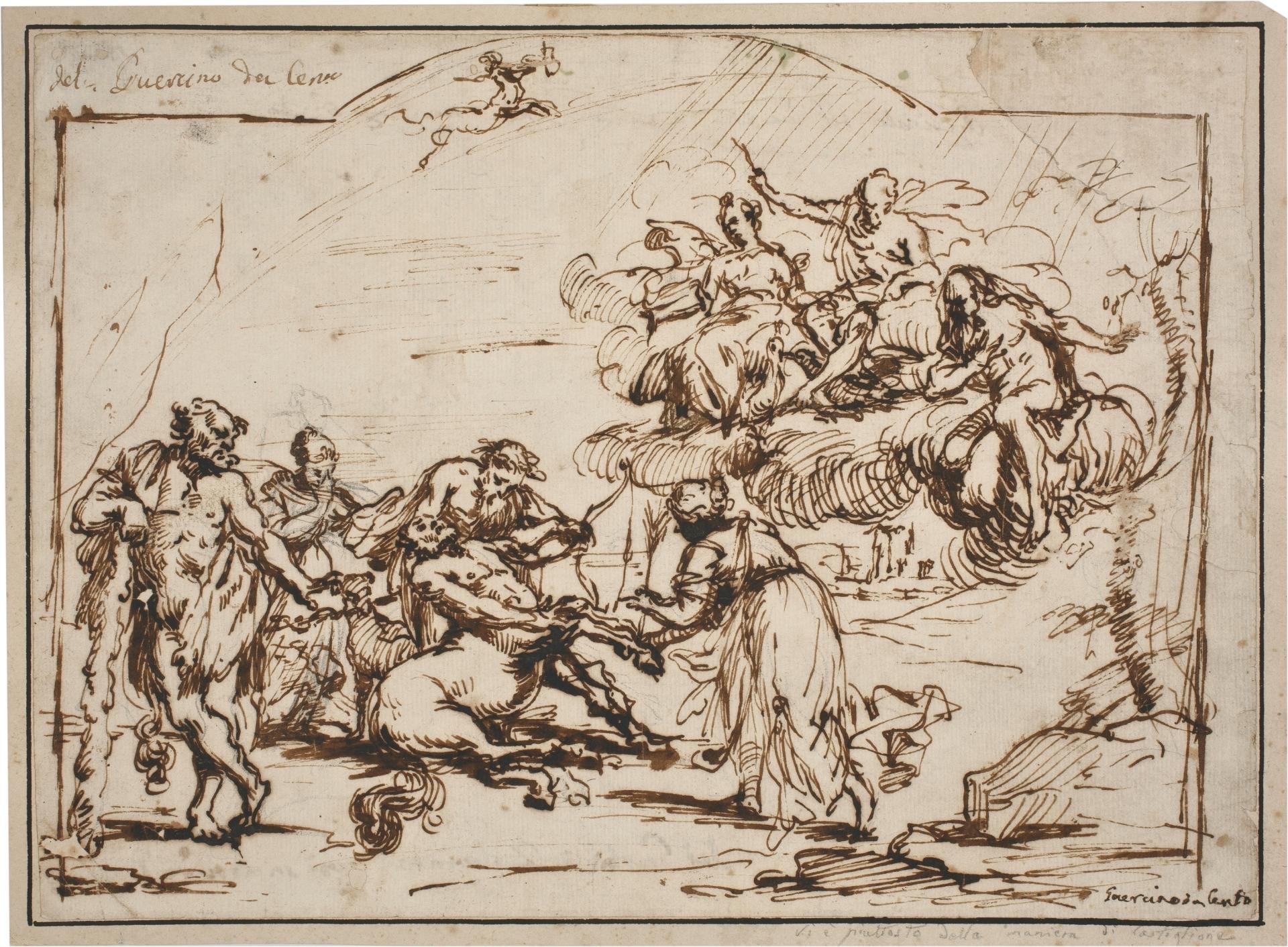 Muerte del centauro Quirón - Colección - Museo Nacional del Prado 2c8d08dd095db