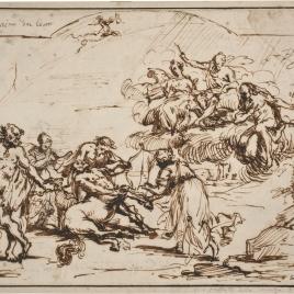 Muerte del centauro Quirón