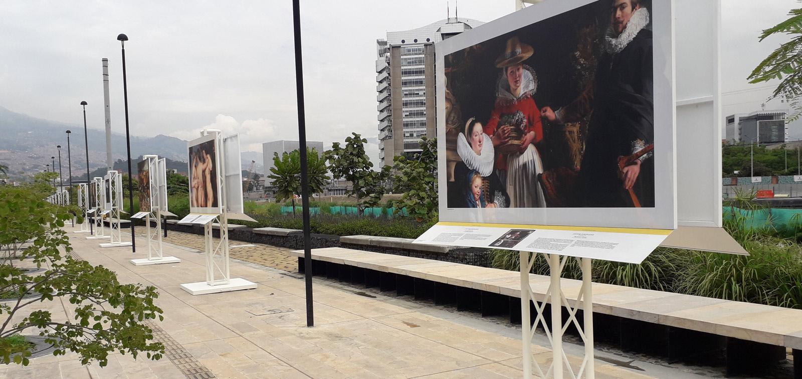 Exposición didáctica: El Prado en Medellín