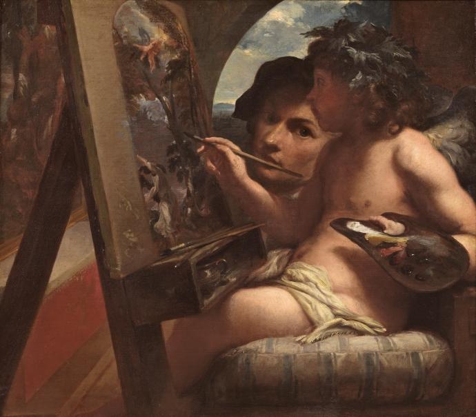 El Genio de la Pintura