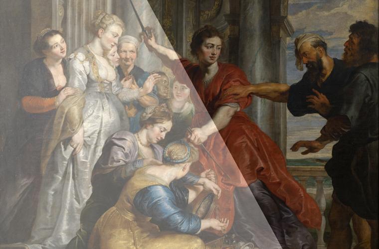 El mito interpretado por Rubens