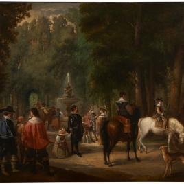 Un paseo en Aranjuez en tiempos de Felipe IV