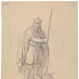 Estudio preparatorio para Alfonso I