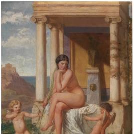 Combate de Eros y Antheros