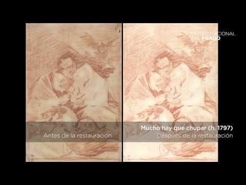 Dibujos de Goya restaurados