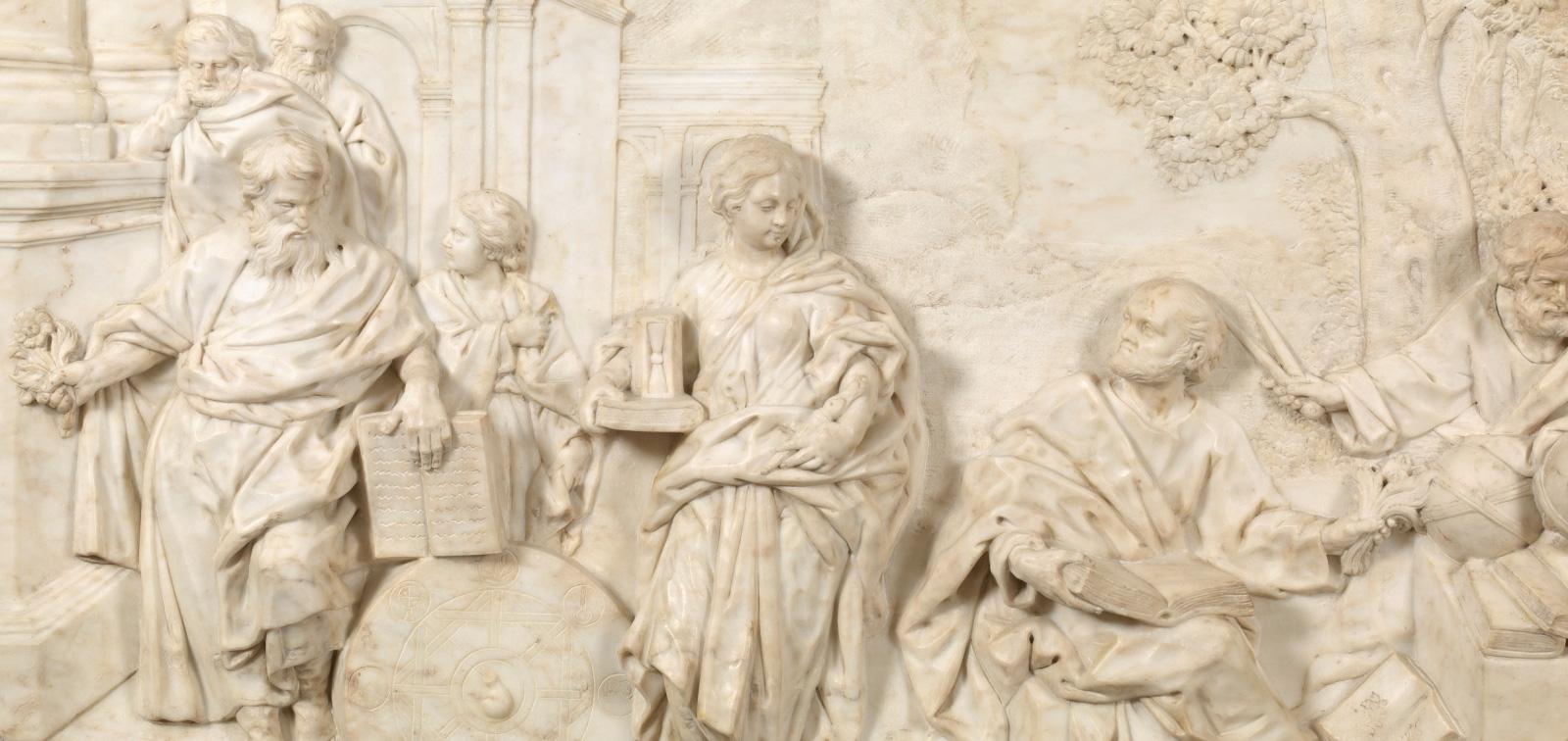 Una obra, un artista: <em>Relieves del Palacio Real</em>