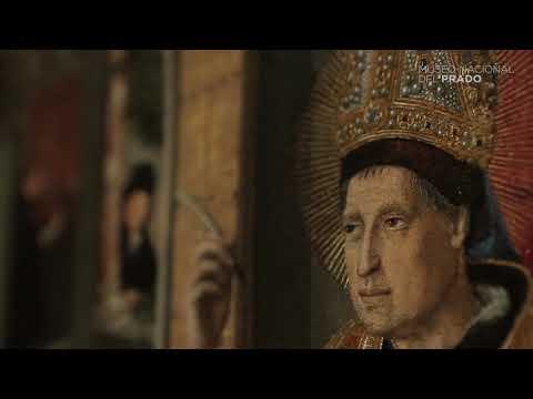 Bartolomé Bermejo - Santo obispo (¿San Benito de Nursia?)