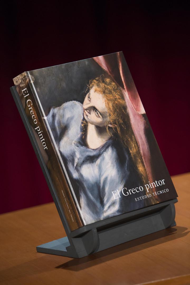 El Museo del Prado presenta el libro El Greco pintor. Estudio técnico