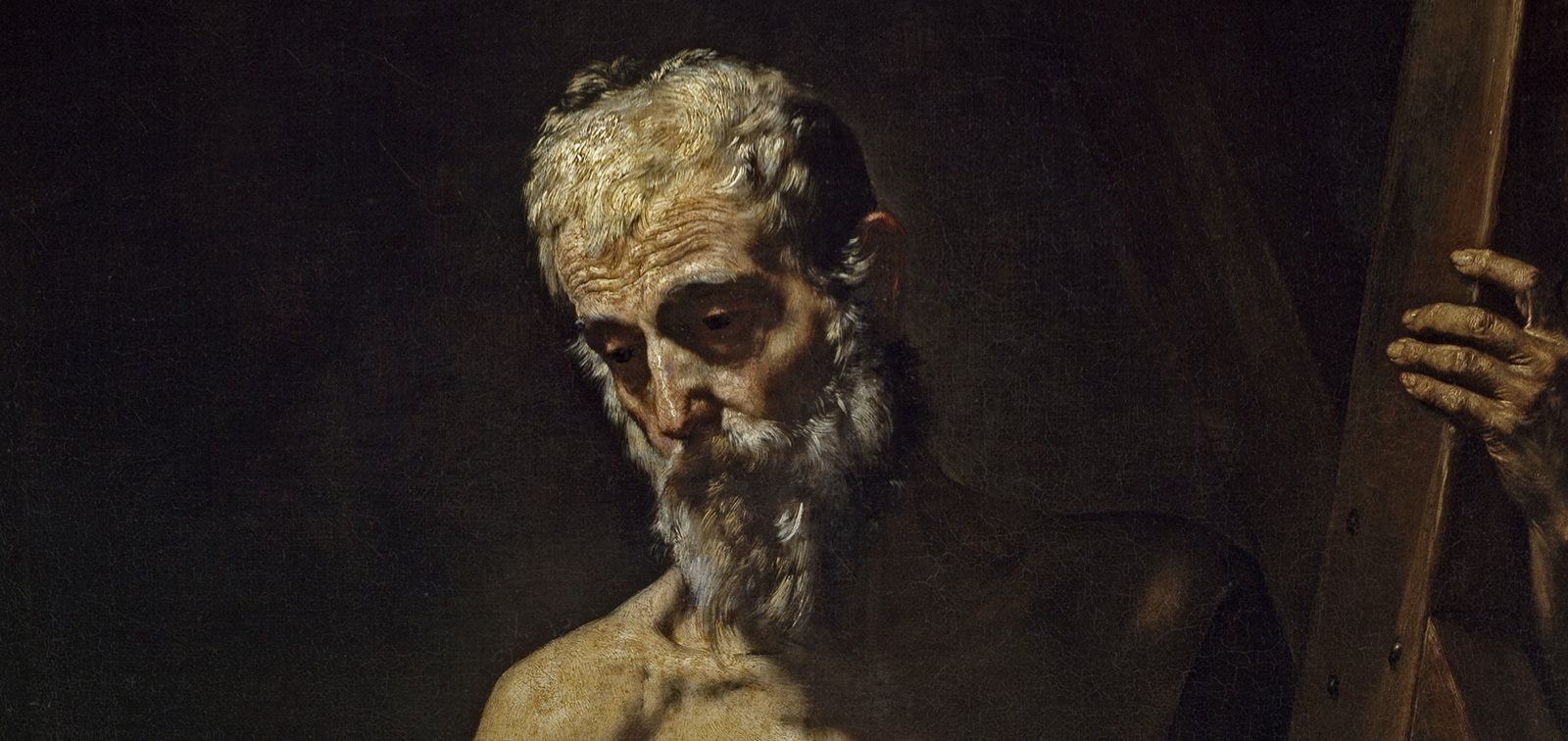 Temporary exhibition: Saint Andrew (after Ribera) by Fortuny