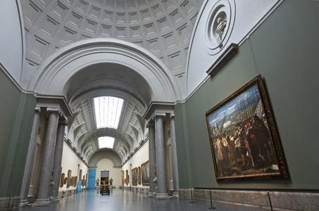 Nueva ordenación: Galería central y salas adyacentes