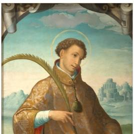 San Esteban / Imposición de la casulla a San Ildefonso