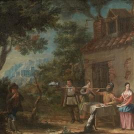 Don Quixote at the Inn