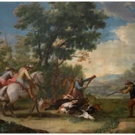 A Wild-Boar Hunt