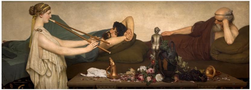 La siesta o Escena pompeyana