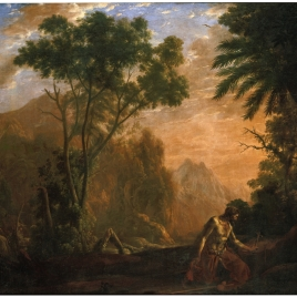 Landscape with Saint Onuphrius