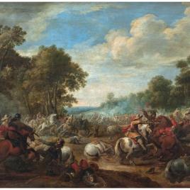 Combate de caballería