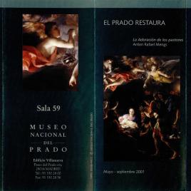 El Prado restaura : la Adoración de los pastores. Anton Rafael Mengs / Museo Nacional del Prado.