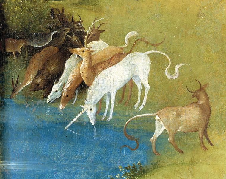 2. El unicornio del Bosco