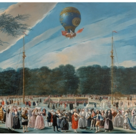 Ascent of a Montgolfier Balloon at Aranjuez