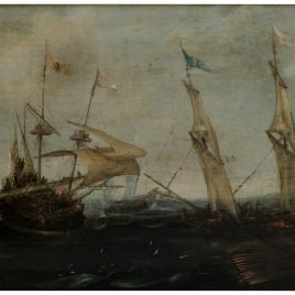 Combate en el mar