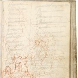 Aníbal vencedor, que por primera vez mira Italia desde los Alpes (estudio preparatorio)