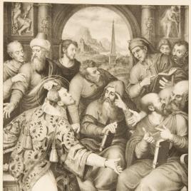 San Esteban en la Sinagoga