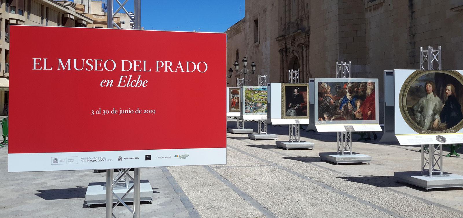 Exposición didáctica: El Museo del Prado en Elche