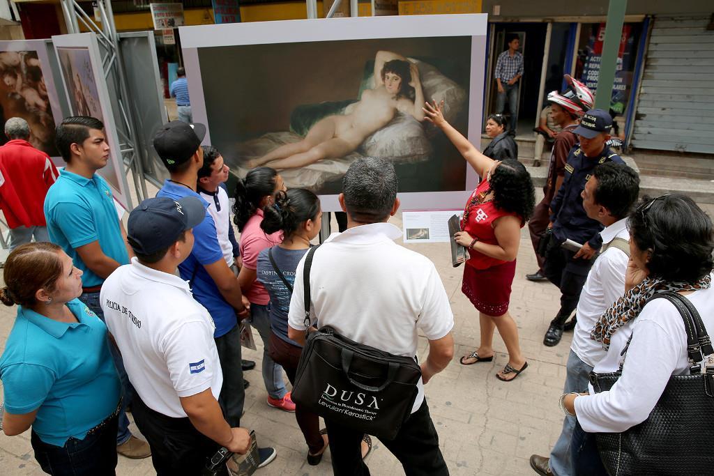 El Prado presenta en Honduras una muestra al aire libre de reproducciones fotográficas de más de cincuenta obras de su colección