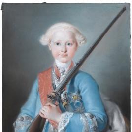 El infante don Antonio Pascual de Borbón y Sajonia (¿?)