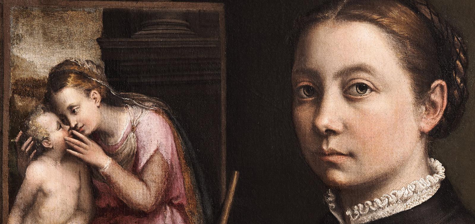 """<em>""""El retrato de una solterona llamada Sofonisba""""</em>, en la colección Colonna de Roma al inicio del siglo XVII"""