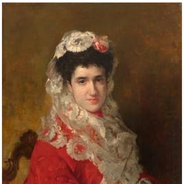 Retrato de señora con mantilla
