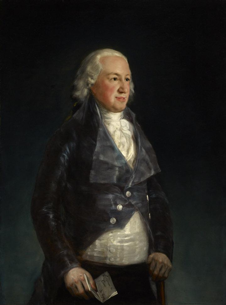 Don Pedro de Alcántara Téllez-Girón y Pacheco, IX duque de Osuna, Francisco de Goya, de la Frick Collection.