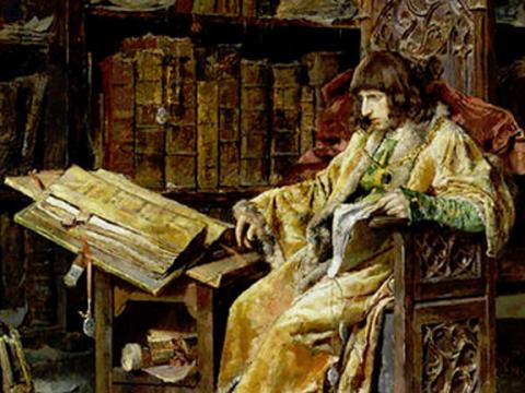 <em>El príncipe don Carlos de Viana</em>, José Moreno Carbonero, comentada por Francisco Ynduráin