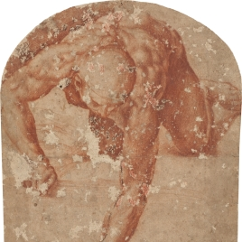 Figura en escorzo de la Batalla de Cascina