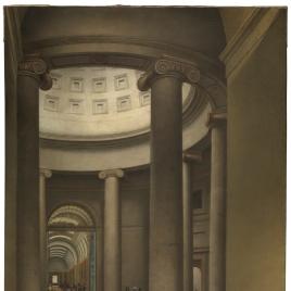 Interior de la rotonda del Museo del Prado