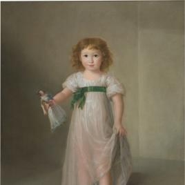 Retrato de Manuela Isidra Téllez Girón, niña