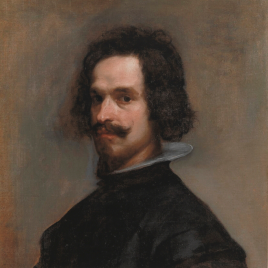 Velázquez [Material gráfico] : retrato de caballero : obra invitada.