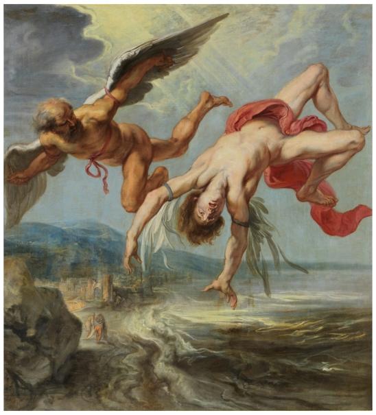 La caída de Ícaro