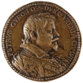 Pedro Téllez-Girón y Velasco, III duque de Osuna y VII conde de Ureña - Un caballo en corveta