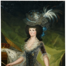 Portrait of Queen María Luisa
